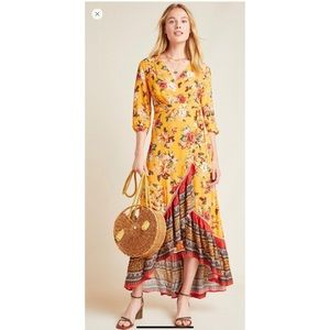 NWT Farm Rio Soigne Wrap Dress